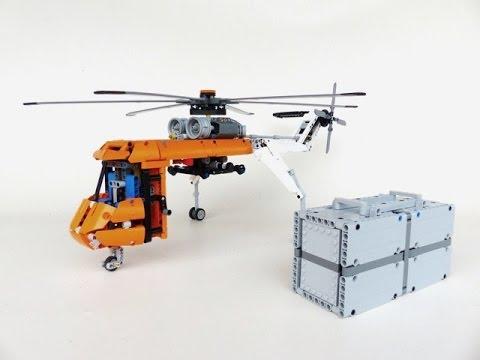lego technic motorizable skycrane youtube. Black Bedroom Furniture Sets. Home Design Ideas