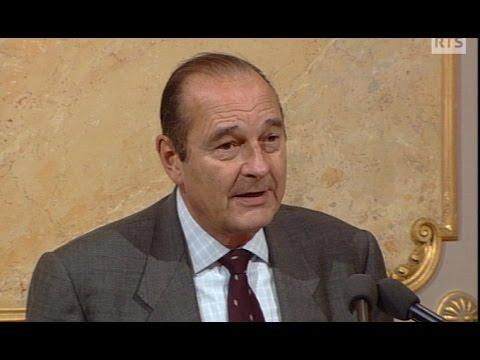 Discours de Jacques Chirac en Suisse (1998)
