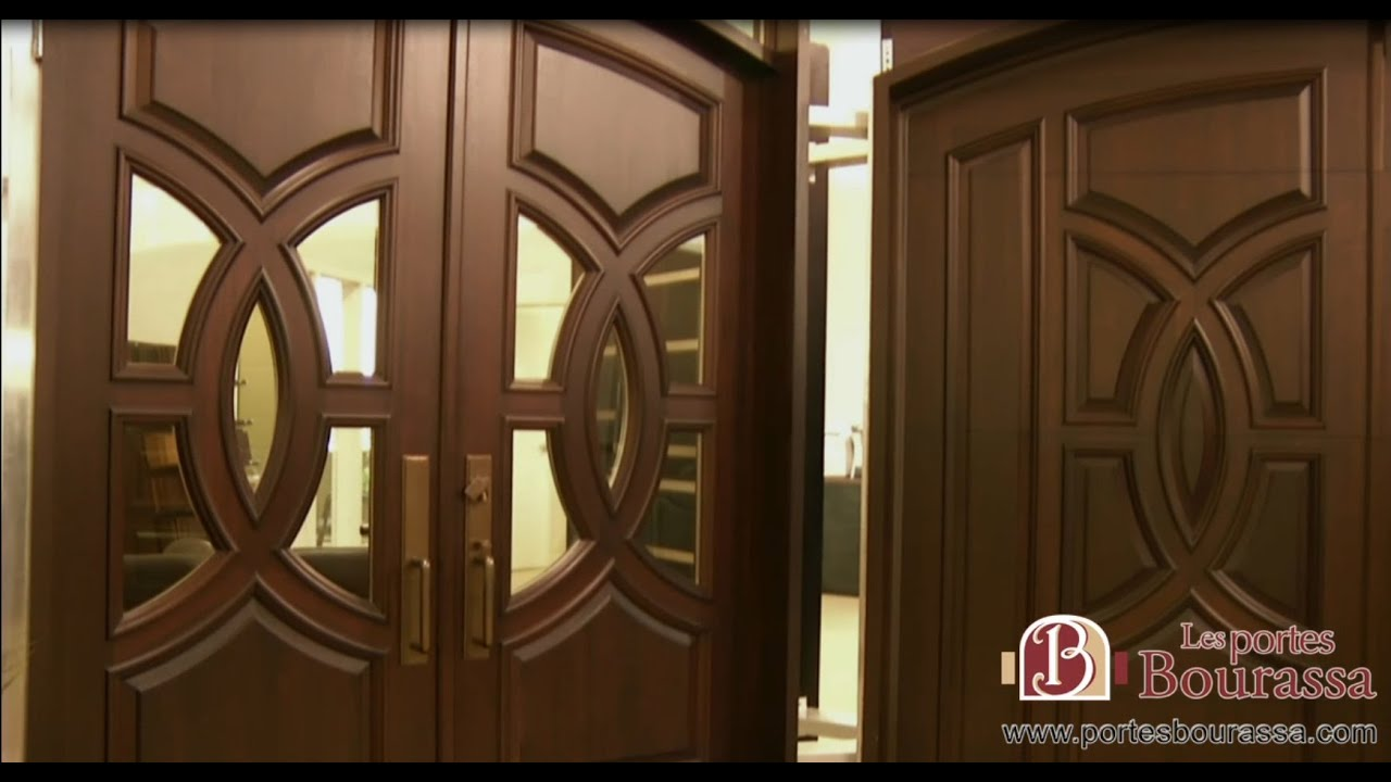 porte de bois sur mesure custom wood door les portes bourassa bourassa doors youtube