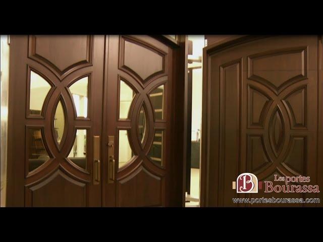 Porte de Bois sur Mesure - Custom Wood Door / Les Portes Bourassa - Bourassa Doors