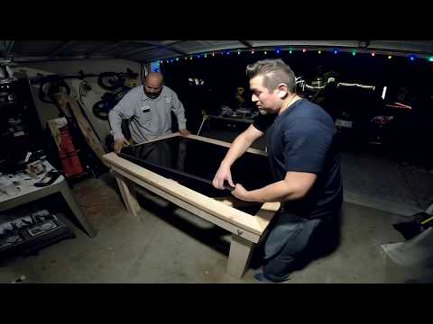 How To: Build a Gaming Table (With TV Inside!!)