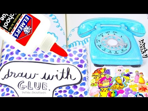 WRECK THIS JOURNAL 4 : Glue Painting, Sticker Collection, & More - SoCraftastic