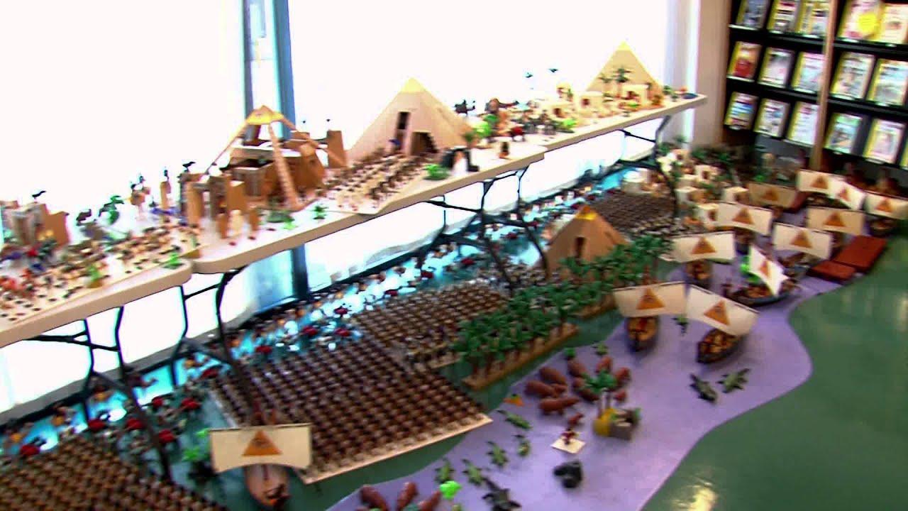 Exposition l 39 egypte vue en playmobil youtube - Egypte playmobil ...