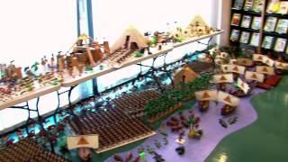 Exposition : l'Egypte vue en Playmobil