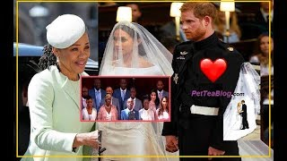 Royal Wedding Dress Boring? Meghan Markle not Black Enough? Her mom...