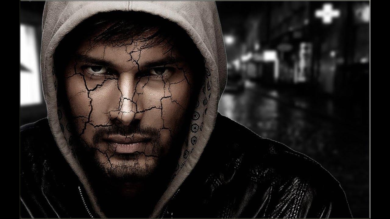 Эффект трещины в Фотошопе. Уроки фотошопа CS6 - YouTube