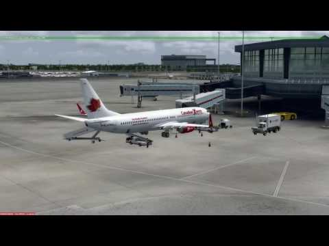P3D v3.3 Boeing 737-900 Vancouver (CYVR) to Anchorage (PANC)