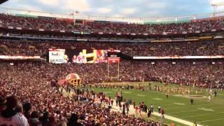 Washington Redskins Playoff Entrance