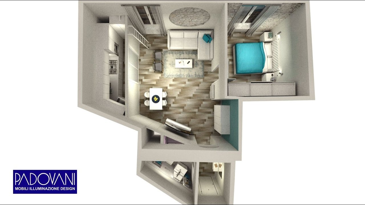 Mini appartamento di lusso a gaeta youtube Arredi di lusso casa