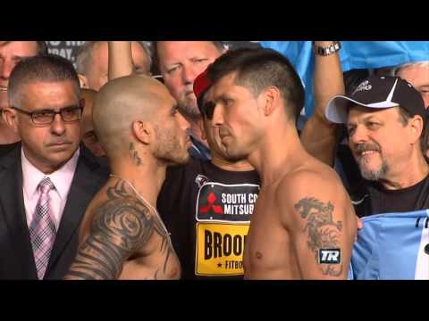 Miguel Cotto vs Sergio Martinez | WEIGH IN