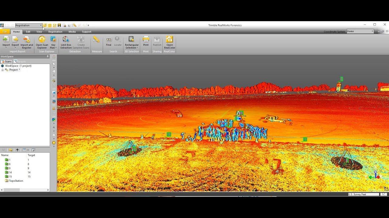 SX10 Data Field-to-Finish Workflow - Trimble Forensics