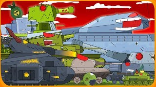 ALL SERIES Steel monsters Cartoons about tanks