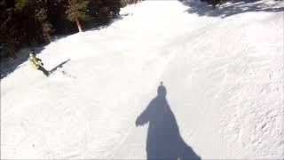 Snowboarding at Arapahoe Basin Colorado