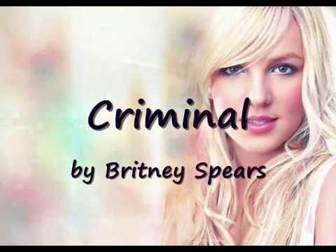 CRIMINAL -  Britney Spears karaoke + lyrics