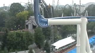 roller soaker rollercoaster hershey park pa on board camera