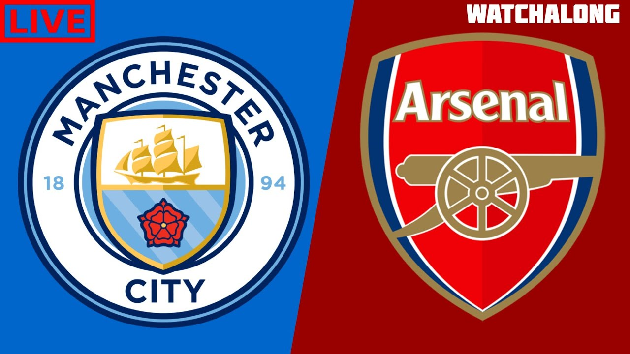 3-0 Manchester City vs Arsenal Live Stream Football Watchalong Premier League live