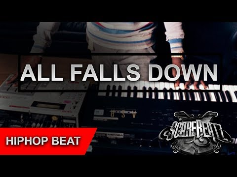 """Kanye West Type Eastcoast Hip Hop Beat """"All Falls Down"""" By Scarebeatz"""