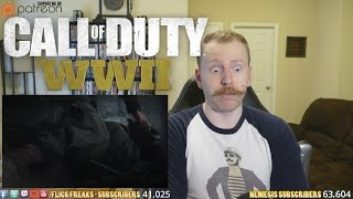 Call Of Duty: WWII - Official Reveal Trailer (Reaction & Review)