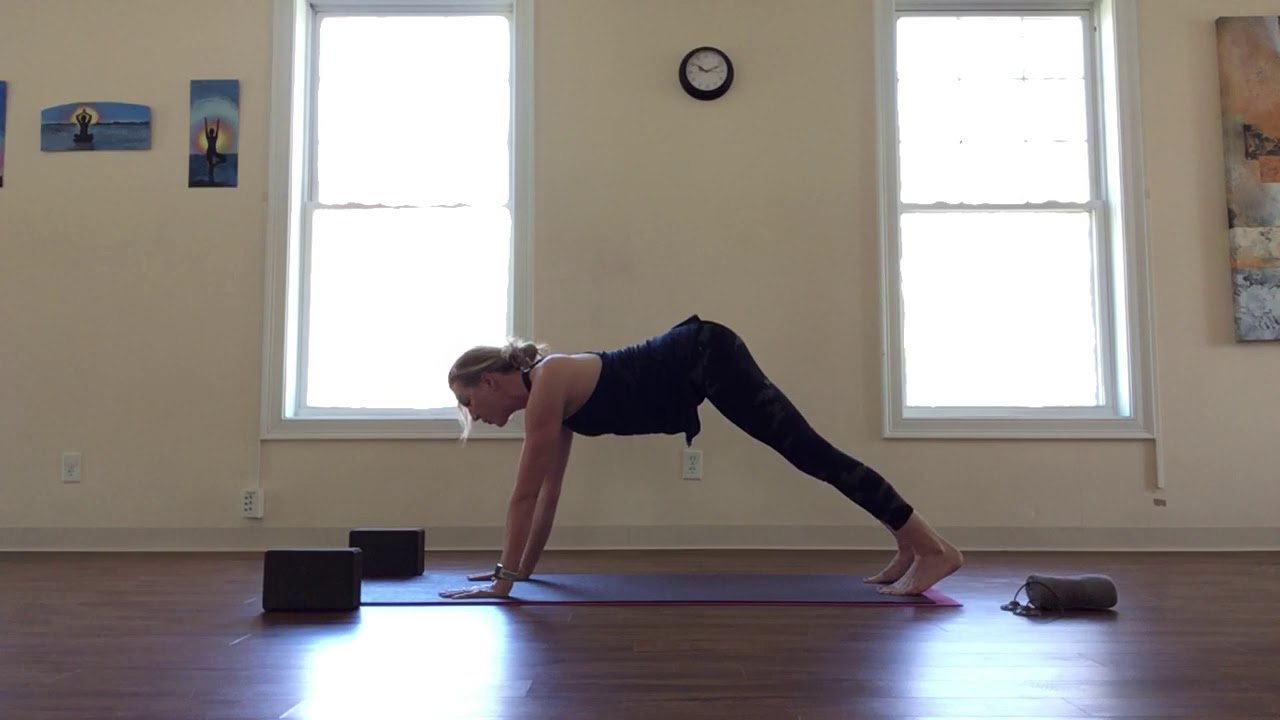 At Home Workout - Danielle's YogaBack for Core Strength - April 14th