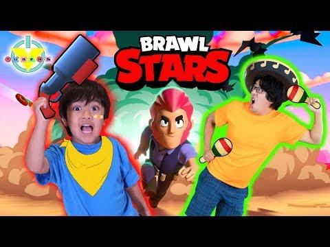 RYAN VS. DADDY ! BEST VS. WORST BRAWLERS ! BRAWL STARS Let's Play
