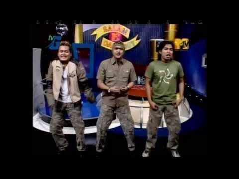 Gaul - Live mtv  Salam dangdut Gila loe   (Adibal ,Eka sapta,Dian)