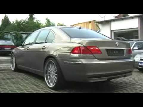 BMW D Review YouTube - 2009 bmw 745