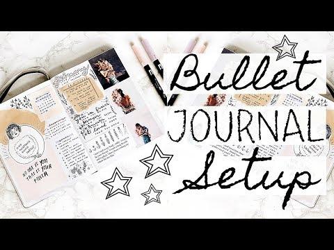 BULLET JOURNAL SETUP + FLIP-THROUGH 2018