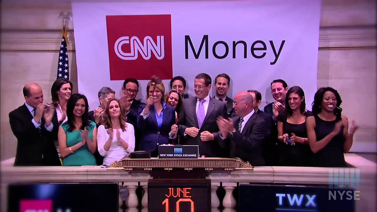 Cnn Rings Nyse Closing Bell To Celebrate Relaunch And Expansion Of Cnnmoney
