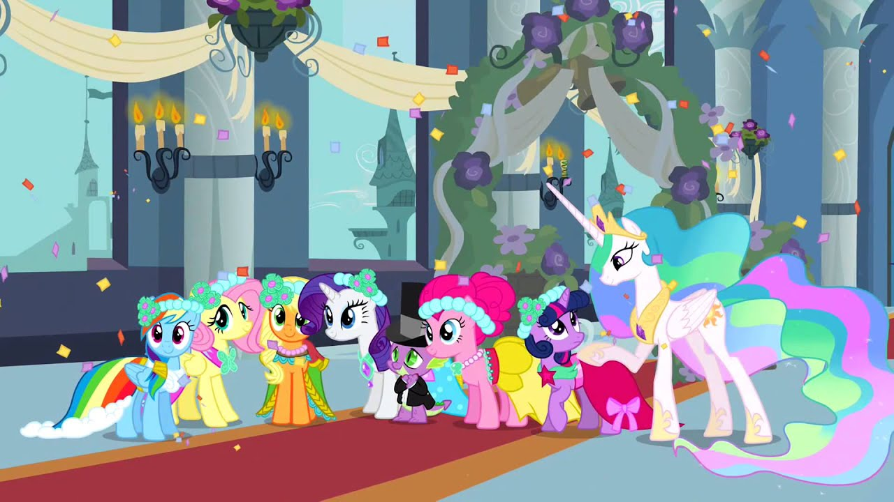My Little Pony Royal Wedding Chrysalis Defeat And Ending Nfl Music You
