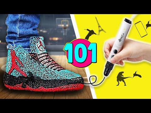 Лучшие Лайфхаки с Использованием 3d Ручки | 101 Funny Stories на русском