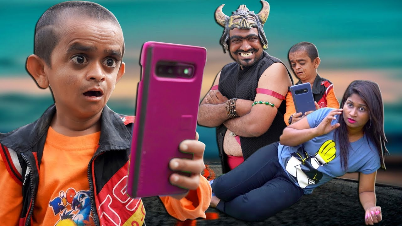 छोटू दादा का मोबाइल | CHOTU DADA KA MOBILE | Khandesh Hindi Comedy | Chotu Comedy Video
