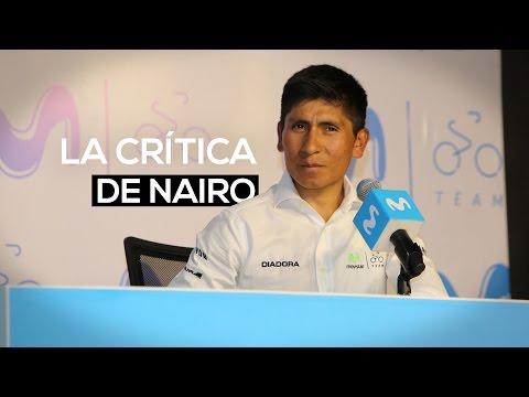 La crítica de Nairo Quintana contra la federación de ciclismo | El Espectador