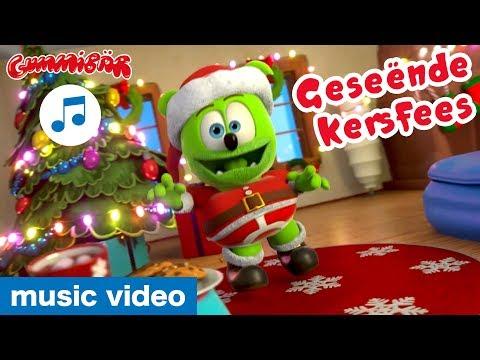 Ek Is 'n Gummibar (Christmas Special) 🎅🏻 Gummibär 🎄 Afrikaans Gummy Bear Song