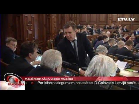 Māris Kučinskis sācis veidot valdību
