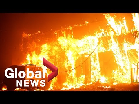 California wildfires: Paradise, California mostly destroyed' by Camp Fire