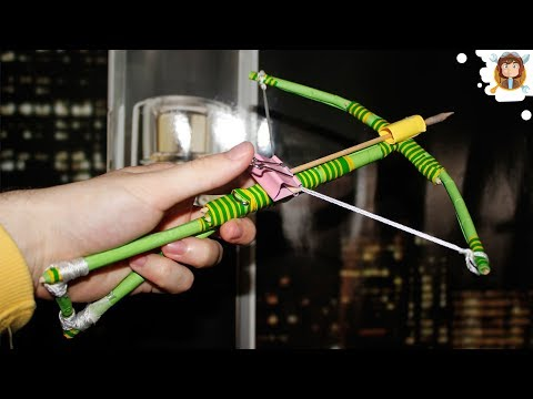 How to make a Popsicle Stick Crossbow (With Trigger