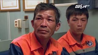 VTC14   Cứu sống 7 thuyền viên gặp nạn trên vùng biển Hoàng Sa