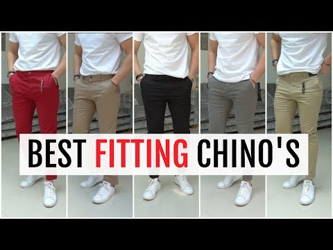 BEST FITTING CHINOS FOR MEN 2019 | Men's Fashion (Topman, Asos, River Island & More)