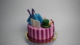 Торт на заказ Алиса в Зазеркалье (Tortlend.ru)