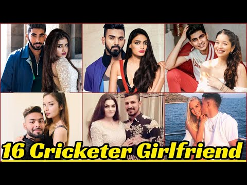 16 World And Indian Cricketers Girlfriend | Most Beautiful Cricketer Girlfriend