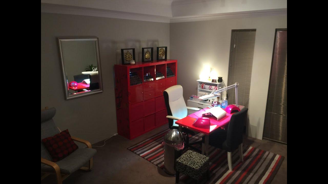 Home Nail Room Tour