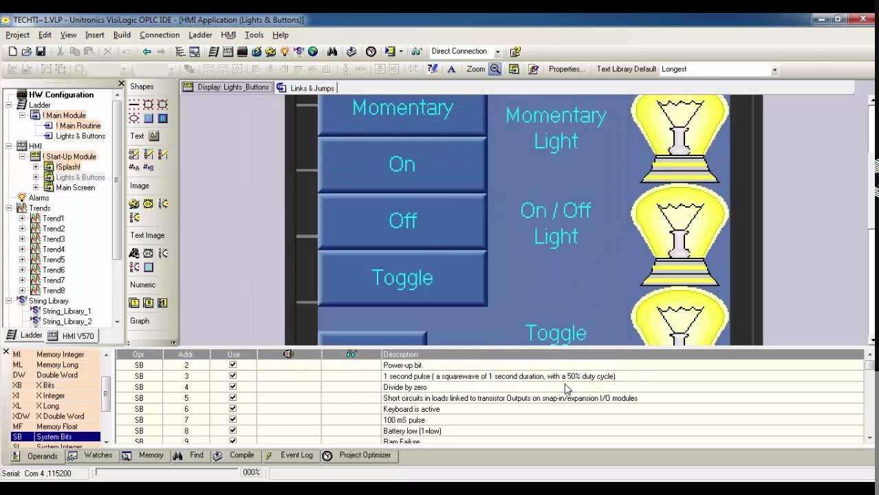 Unitronics Tech Tid Bit - VisiLogic, Export/Import Subroutines and  Displays, March 2015