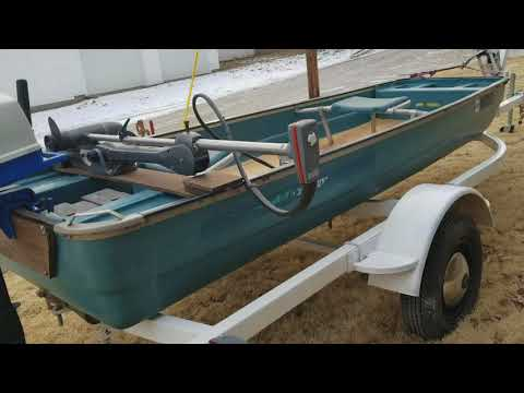 Coleman 12' Flat bottom boat for sale