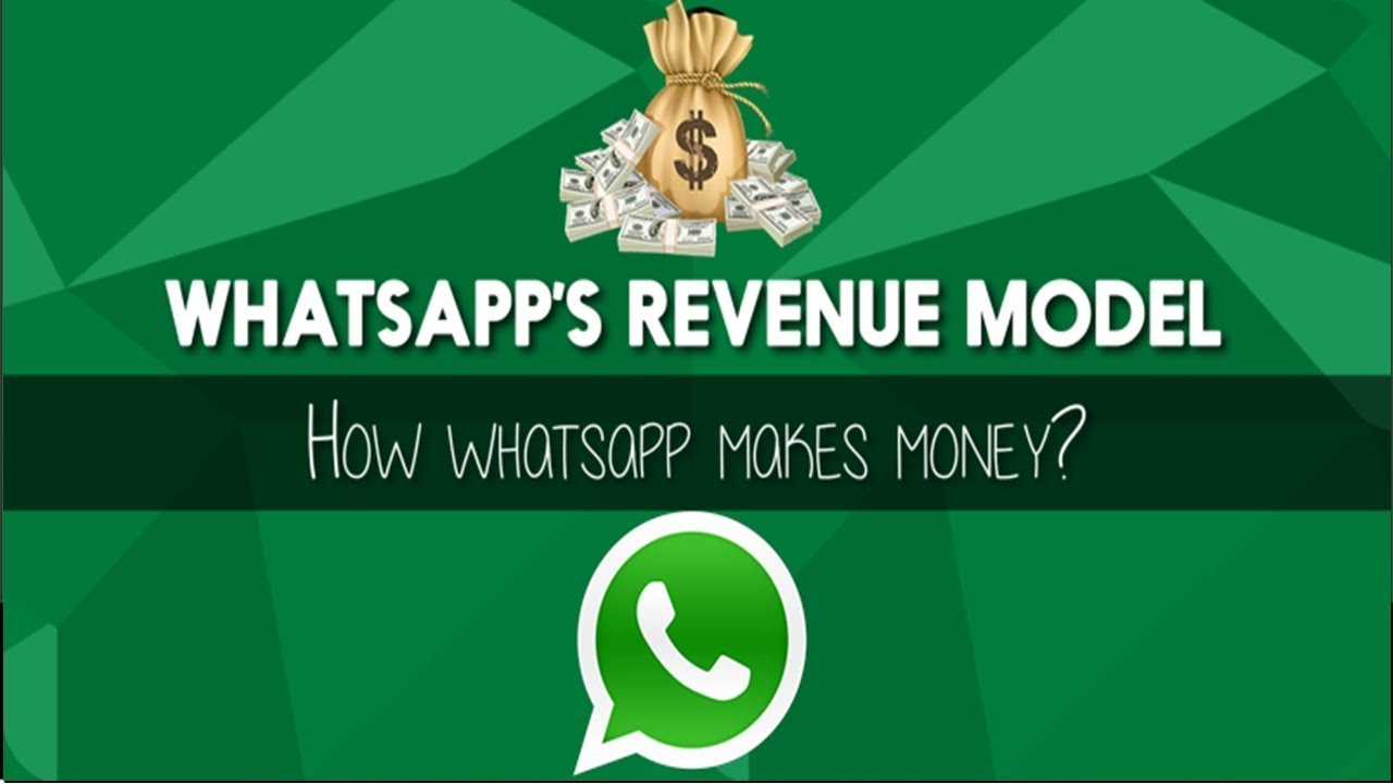 How does Whatsapp generate revenue? What's its business Model?