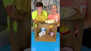 Who will get the chili pepper? #shorts Tiktok Food challenge by Tiktoriki