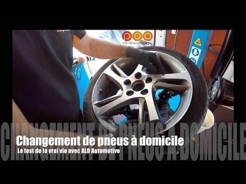 Changement de pneus à domicile : POA fait le test de la vraie vie