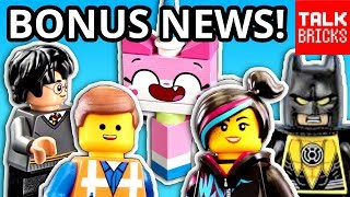 BONUS LEGO NEWS! LEGO MOVIE 2 & Turkish Airlines?! Harry Potter Event! September 2018 Store Calendar