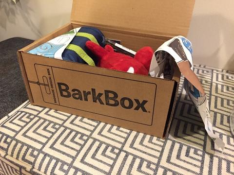 Barkbox Monthly Gift Pack For Golden Retrievers Yorkies
