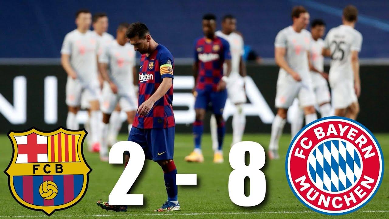 Barcelona vs Bayern Munich [2-8], Champions League, Quarter-Final - MATCH REVIEW