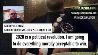 Project Veritas exposes CO Dem Party Exec calling for VIOLENT STREET WAR and #ArmedRevolution